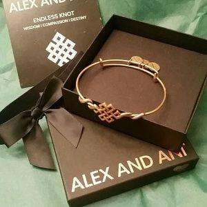 Alex and Ani Endless Knot Bangle